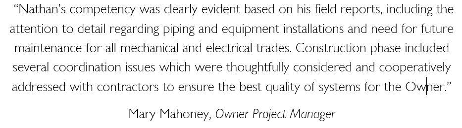 Mary Mahoney Testimonial - White